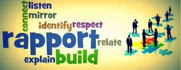 Building trust and Rapport